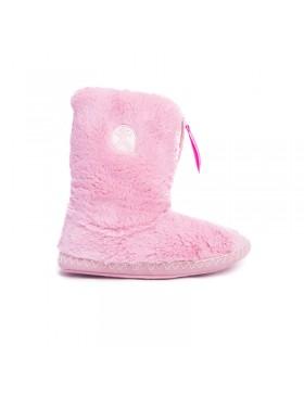 Bedroom Athletics Marilyn roze dames pantoffel laarsjes