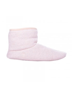 Emily baby roze pantoffel booties