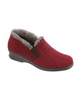 Jetty huisschoenen dames rood