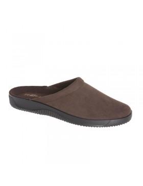 Fashmo bruine pantoffels heren