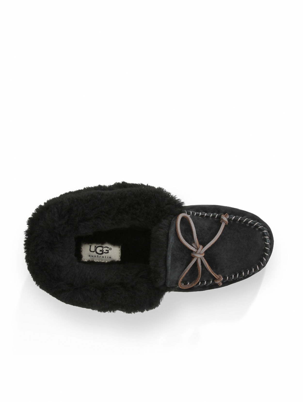 ugg slippers dames zwart