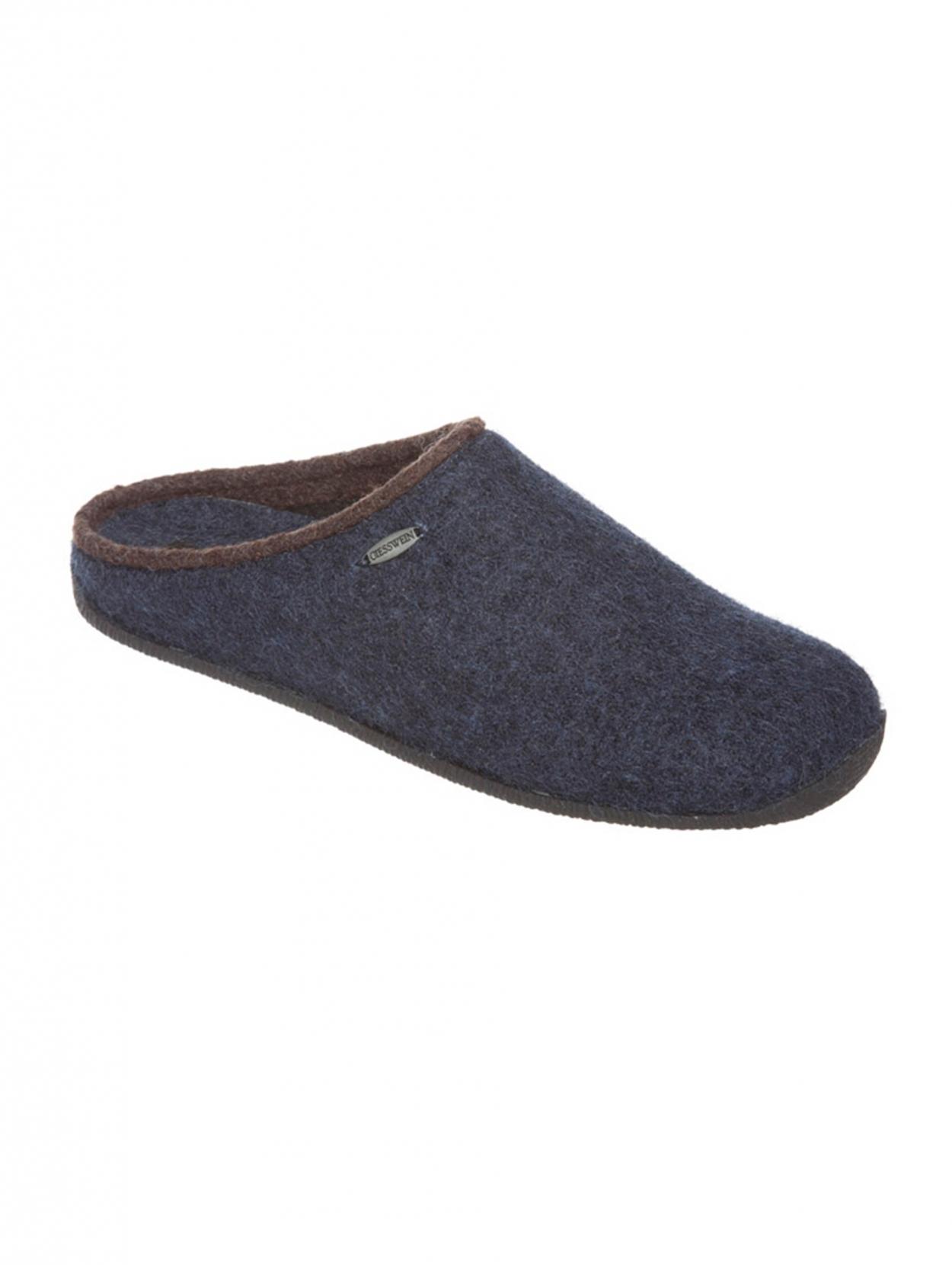 Chaussures Maison Chaude Chaussettes Pantoufle En Laine À Carreaux - Blanc, Taille 45