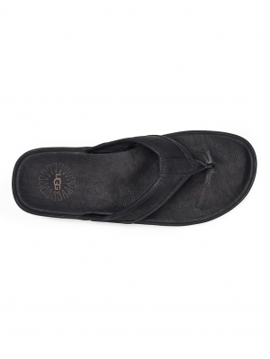 Seaside Leather Teenslipper