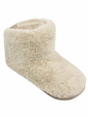 Natural Sheepy Boot