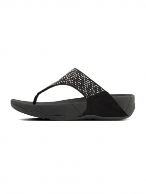 Lulu Popstud Toe-Thong Sandals