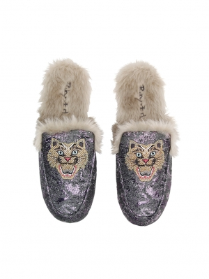 Amethyst Whiskers Loafer